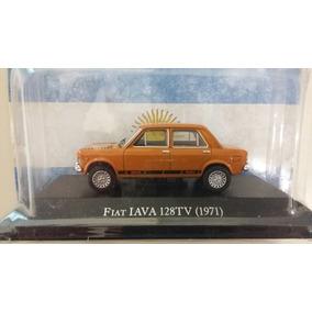Autos Inolvidables 1:43 Fiat 128 Iava- Peugeot 403 Tosner.
