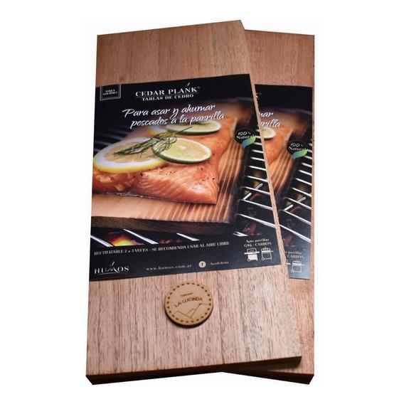 Tabla De Cedro X2 Para Asar Y Ahumar Cedar Plank