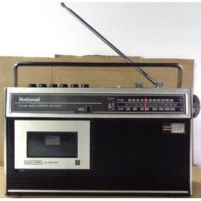 Rádio Antigo Marca National Não Funciona Reparo Decorativo