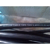 Cable Thw Nº 6 Elecon 100% Cobre X Metro