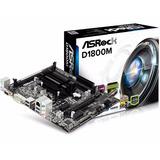 Combo Tarjeta Madre Asrock D1800m + Intel J1800 Dualcore