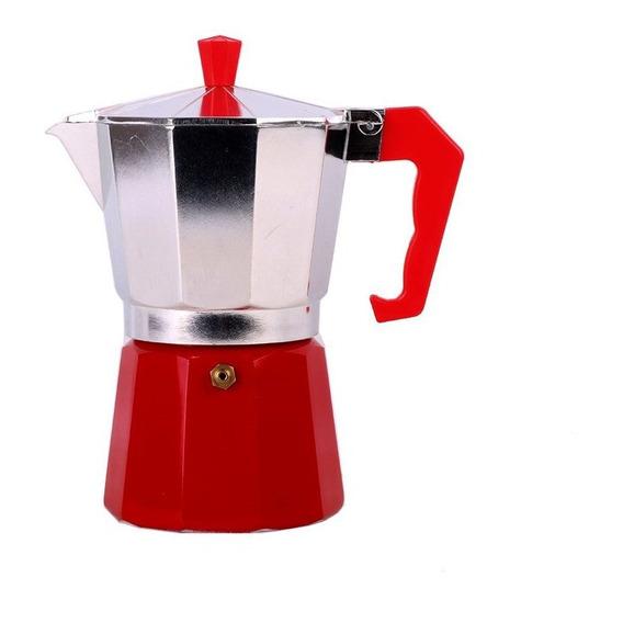 Cafetera Italiana 6 Pocillos Aluminio Moka  300 Ml Znorte