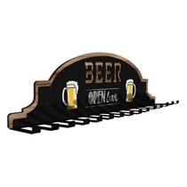 Porta Taça De Cerveja P/ Parede Em Aço C/ Epoxi + Kit Buchas