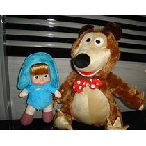 Masha E O Urso Pelúcia Boneca
