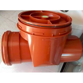 Válvula Check Antiretorno P/drenaje Sanitario 4 Pulgadas