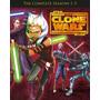 Star Wars, The Clone Wars, Guerra De Clones Completa Dvd