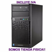 Servidor Hp Proliant Ml10 Xeon 3.10ghz 1tb 2gb Ram Tienda!!