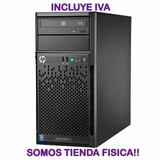 Servidor Hp Proliant Ml10 Xeon 3.10ghz 8gb Ram 1tb Tienda Sk