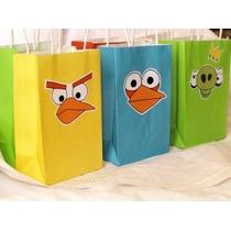 Bolsas Para Fiestas Infantiles De Angry Birds1