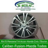 Rin 15 Manzana 114 5 Huecos Accord Civic Tucson Caliver
