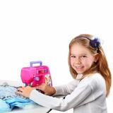 Maquina Custura Criança Atelie Princesas Rosa Multikids