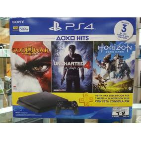 Ps4 Slim Playstation 4 Slim 500gb + 3 Jogos S/juros