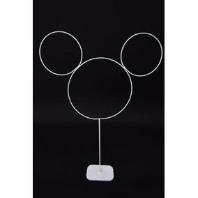 Arranjo Para Mesa, Enfeite P/ Mesa, Modelo Mickey Minnie 4pç