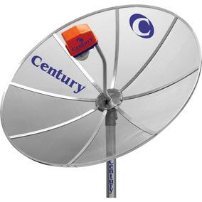 Antena Parabólica Century Tela 1,70 Band C E Lnbf Multi