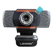 Webcam Usb + P2 Hd 720p C/ Microfone Home Office Ead Lehmox