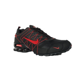 Tenis Nike Shox Air Ultra 2018 Black-red Oferta Especial
