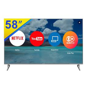 Smart Tv Led 58 Panasonic 4k Uhd, Quad Core - Tc-58ex750b