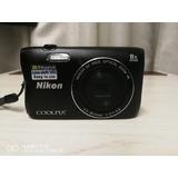 Coolpix S3700 20.1 Megapixeles Tecnología Nfc Memoria 16 Gb