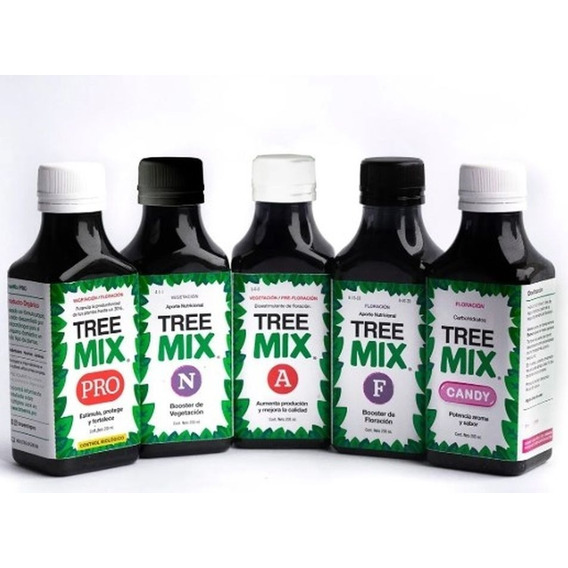 Kit Trimix Treemix X5 200ml Pro, F,a,n, Candy