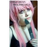 Cosplay Lens Pink B. Circle Rosa Crazy Lentes De Contacto Fx
