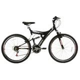 Bicicleta Track Bikes Tb300 Preto Fosco, Aro 26, 18 Marchas
