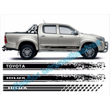 Adhesivo Toyota Hilux Lateral