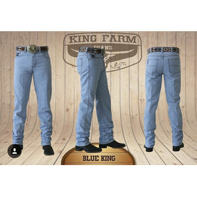 Calça Jeans Country Masculina King Farm Blue King