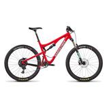 2017 Bicicleta Santa Cruz 5010 C L Vermelha