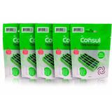 Kit Com 5 Filtros Bem Estar Anti Bactéria Geladeira Consul