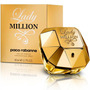 Perfume Original Mujer Lady Million Paco Rabanne 80 Ml
