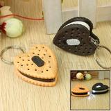 4 Pack 12 Llaveros Led Linternas Cookies Souvenirs Por Mayor