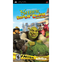 Patch - Shrek Smash N Crash Racing - (psp E Ps Vita) E Pc