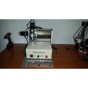 Minirouter Cnc Usb Fresadora Pcb 30x20 Nema23 Mach3 Aluminio