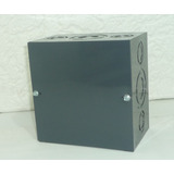 Caja De Paso Metálica 6x6x4 Pulgadas