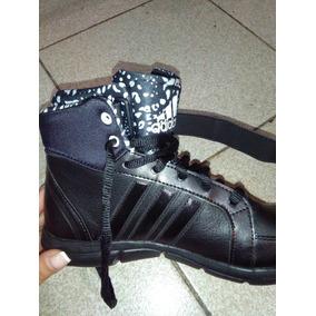 Zapatillas adidas Mujer Botitas Negras