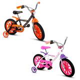 Bicicleta Infantil Aro 14 Firstpro Aluminio Nathor Fem/mas