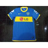 Camiseta Oficial De Boca Jrs 2010 - 2011 Small