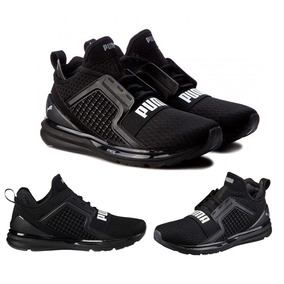 Zapatillas Puma Ignite Limitless Botin Negro Stock Original