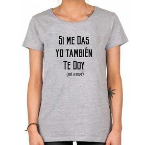 Remera Enrique Iglesias Quique Si Me Das Yo Tambien Te Doy