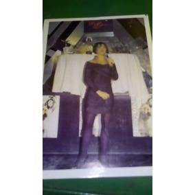 Alejandra Guzman En Poster Chico Antiguo De Colección 80