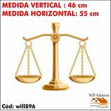 Adesivo De Parede Balança Escritório Advocacia Lei Will896