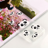 For Huawei P20 Lite & Nova 3e Panda Pattern Clear Oil Embos