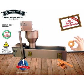 Maquina Para Hacer Mini Donas Semiautomatica