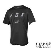Remera Fox Flexair Ss Moth Mtb Bmx #22833-001-tienda Oficial