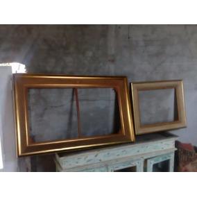 marcos dorados para espejo cuadro etc