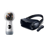 Camara Samsung Gear 360 4k + Samsung Gear Vr Combo
