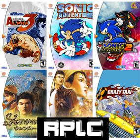 Patchs Dreamcast Vários Títulos