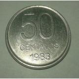 Argentina 50 Centavos 1983 Ver Fotos