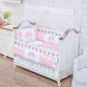 19f06bc2f Kit De Berço Paulinha Baby Nuvens - Quarto do Bebê no Mercado Livre ...