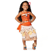 Disfraz Niña Moana Disney Store Vestido